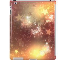 Ornamental Deer Background 4 iPad Case/Skin