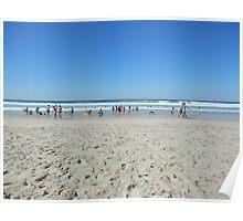 Easter Beach Swim Poster