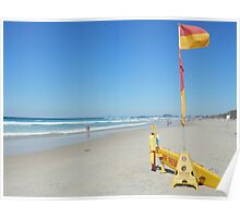 Surf Rescue Broadbeach 19 April 2014 Poster