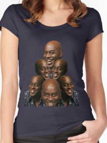 Stack of Ainsley Harriott Women's Fitted Scoop T-Shirt
