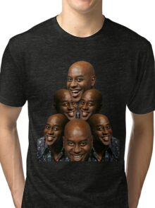 Stack of Ainsley Harriott Tri-blend T-Shirt