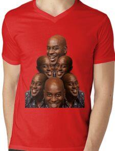 Stack of Ainsley Harriott Mens V-Neck T-Shirt
