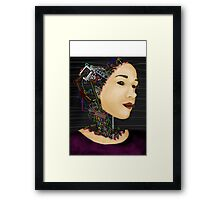 Cyborg in disguise Framed Print