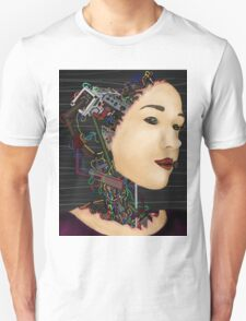 Cyborg in disguise Unisex T-Shirt
