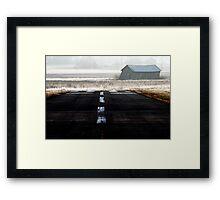 19.4.2014: Runway Framed Print
