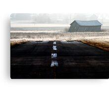19.4.2014: Runway Canvas Print