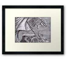Ryu the dragon Framed Print