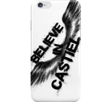 Believe in Castiel -- dark graffiti iPhone Case/Skin