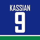 Vancouver Canucks Zack Kassian Jersey Back Phone Case by Russ Jericho