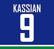 Vancouver Canucks Zack Kassian Jersey Back Phone Case by RussJericho23