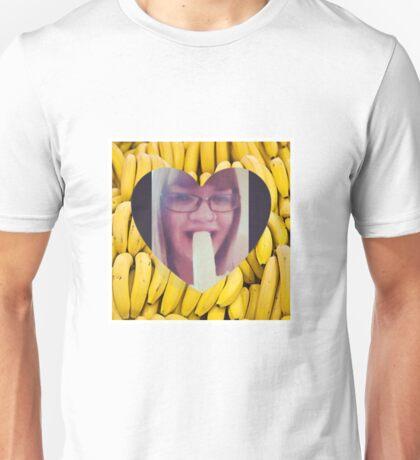 Never Make Eye Contact When Eating A Banana Unisex T-Shirt