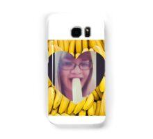 Never Make Eye Contact When Eating A Banana Samsung Galaxy Case/Skin