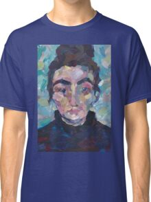 Marcelle - Portrait of a young woman Classic T-Shirt