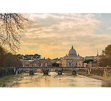 River Tiber Photographic Print