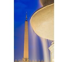 Water Fountain Photographic Print