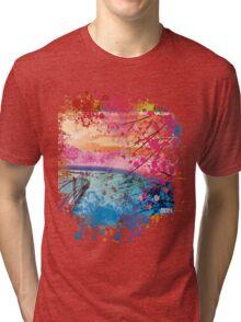 LANDSCAPE ZEN Tri-blend T-Shirt
