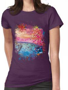 LANDSCAPE ZEN Womens Fitted T-Shirt