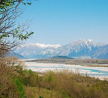 Tagliamento Floodplain by jojobob