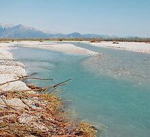 Tagliamento Floodplain by jojobob