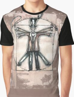 The Vitruvian mad hatter (collaboration with Blake) Graphic T-Shirt