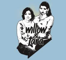 Willow & Tara (with text) by Vixetches
