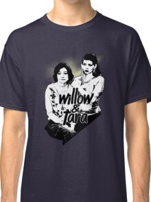 Willow & Tara (with text) Classic T-Shirt
