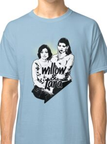 Willow & Tara (with text) Classic T-Shirt