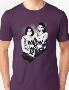 Willow & Tara (with text) T-Shirt