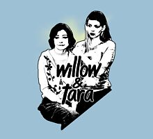 Willow & Tara (with text) Unisex T-Shirt