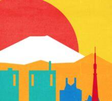 TRAVEL TO TOKYO Sticker