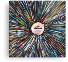 Mouth I  Canvas Print
