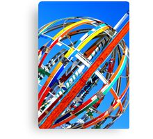 Whirligig Top 4 Canvas Print