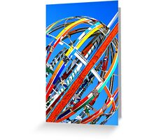 Whirligig Top 4 Greeting Card