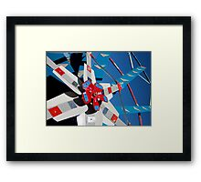 Whirligig Top 5 Framed Print