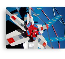 Whirligig Top 5 Canvas Print