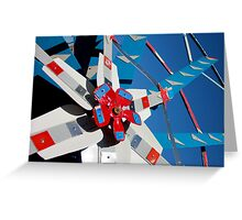 Whirligig Top 5 Greeting Card
