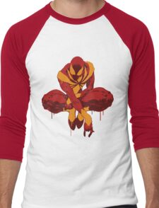 Iron Spider Grunge Men's Baseball ¾ T-Shirt