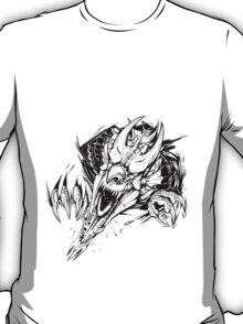 Breaking out - Welsh dragon T-Shirt