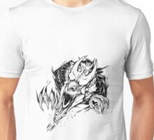 Breaking out - Welsh dragon Unisex T-Shirt