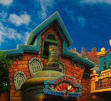 Toon Town Skyline by Ron LaFond