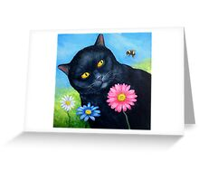 The Sting Greeting Card