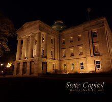 North Carolina State Capitol Building by Kristi Nobers