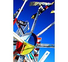 Whirligig Top 7 Photographic Print