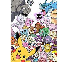 Pokemon! Photographic Print