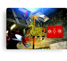 Whirligig Top 8 Canvas Print