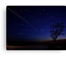 International Space Station Meets Gower Canvas Print