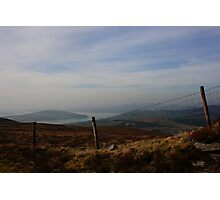 Inch Island From Scalp Mountain Photographic Print
