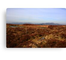 Inishowen Mountains Canvas Print