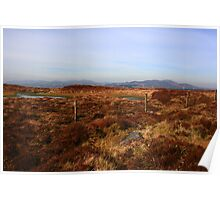 Inishowen Mountains Poster