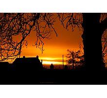 kilkenny sunset  Photographic Print